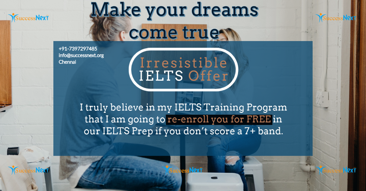 Irresistible IELTS Offer – I am excited for you!